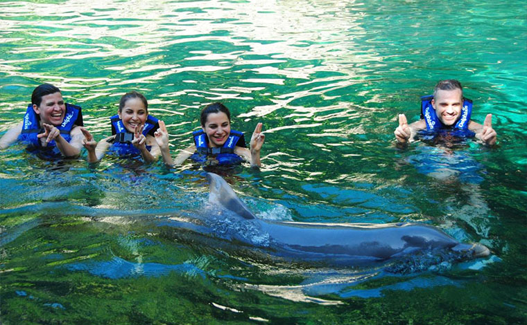 Primax - Dolphin Swim at Xcaret