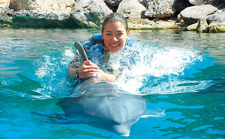 Xel-Ha Dolphinclusive Dolphin Ride + Xel-Ha Tour
