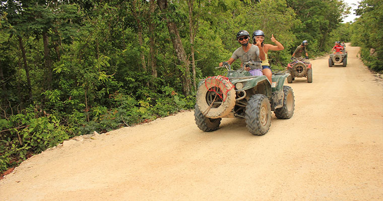 ATV Secret Cave & Cenote Single Ride