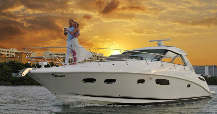 Yacht Romantic Sunset Dinner