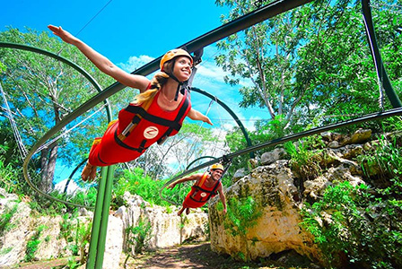 Explore two great Cancun attractions in one tour!