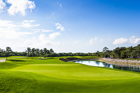 Play one round of golf at any of the best golf courses in Cancun or the Riviera Maya.