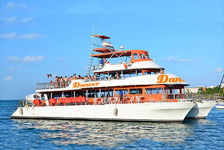 Sail to Isla Mujeres on a cruise filled with fun and entertainment.