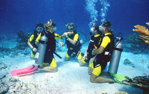 Snorkel in Caverns with Scuba Cancun