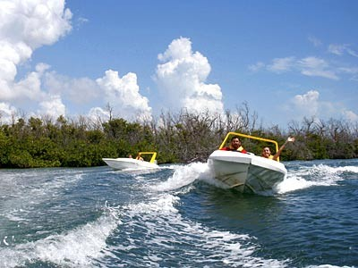 Jungle Tour with Speedboats